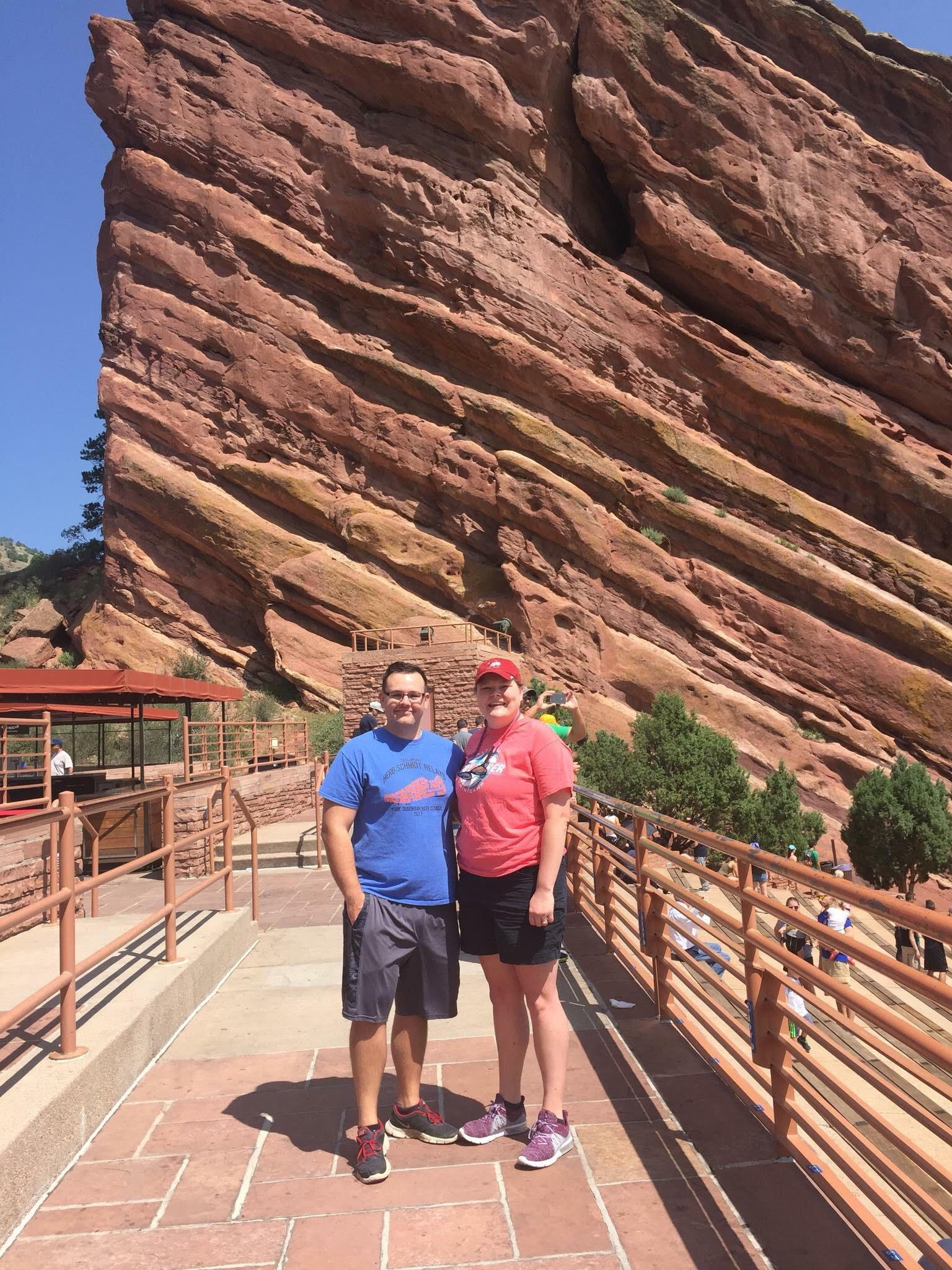 Red Rock Amphitheater Denver, CO
