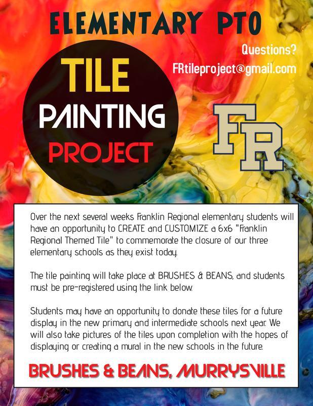 Elem. Tile Painting Project 2021