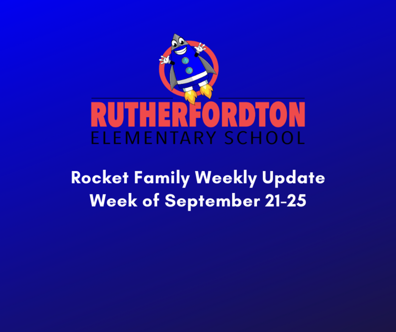 Rocket Family Weekly Updates - Week of September 21-25 Featured Photo
