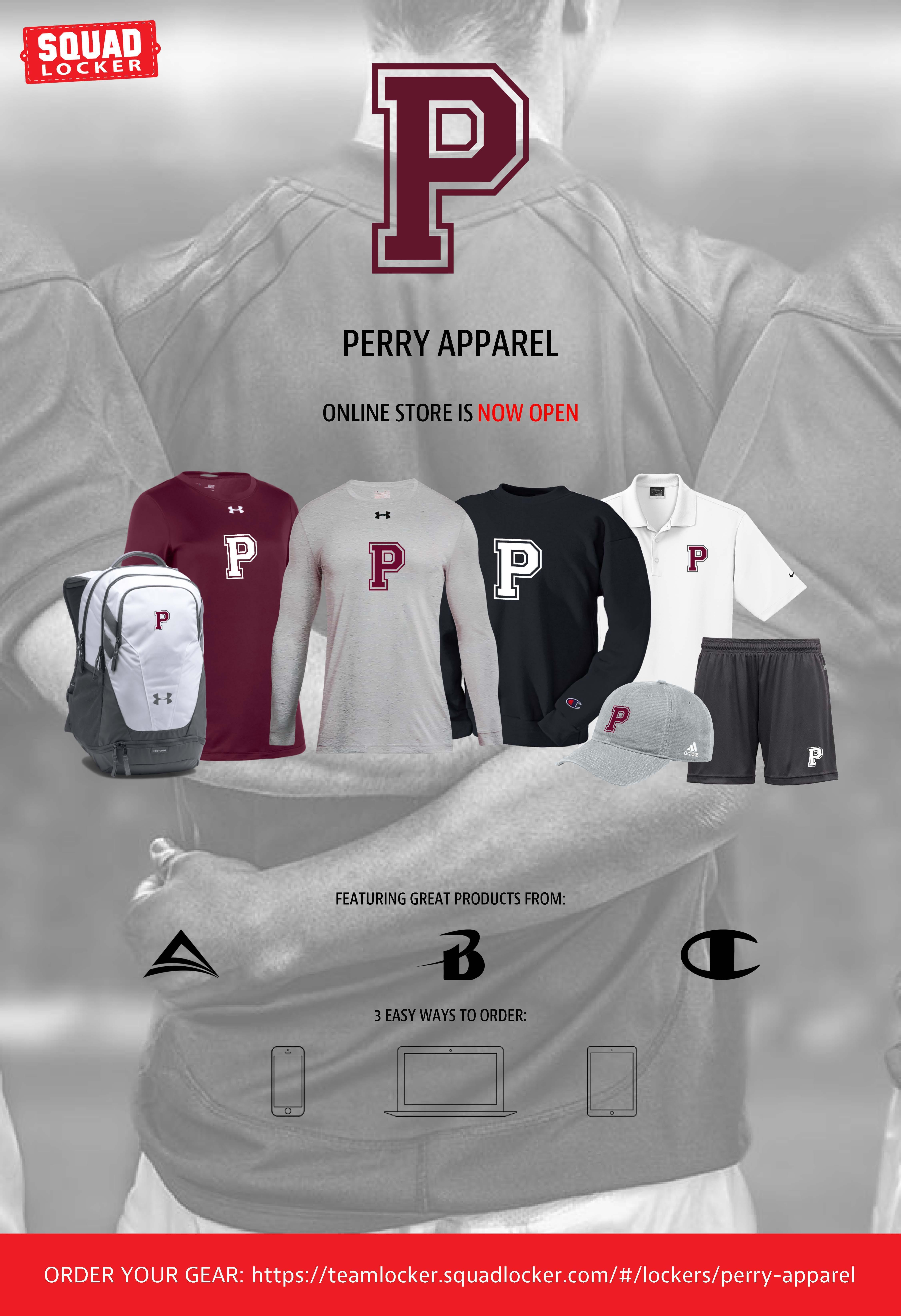 shop perry gear