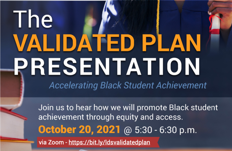 Accelerating Black Student Achievement VALIDATED Plan Presentation Featured Photo