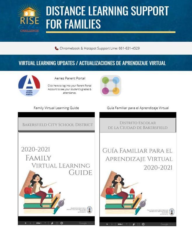 Distance Learning Support for Families Featured Photo