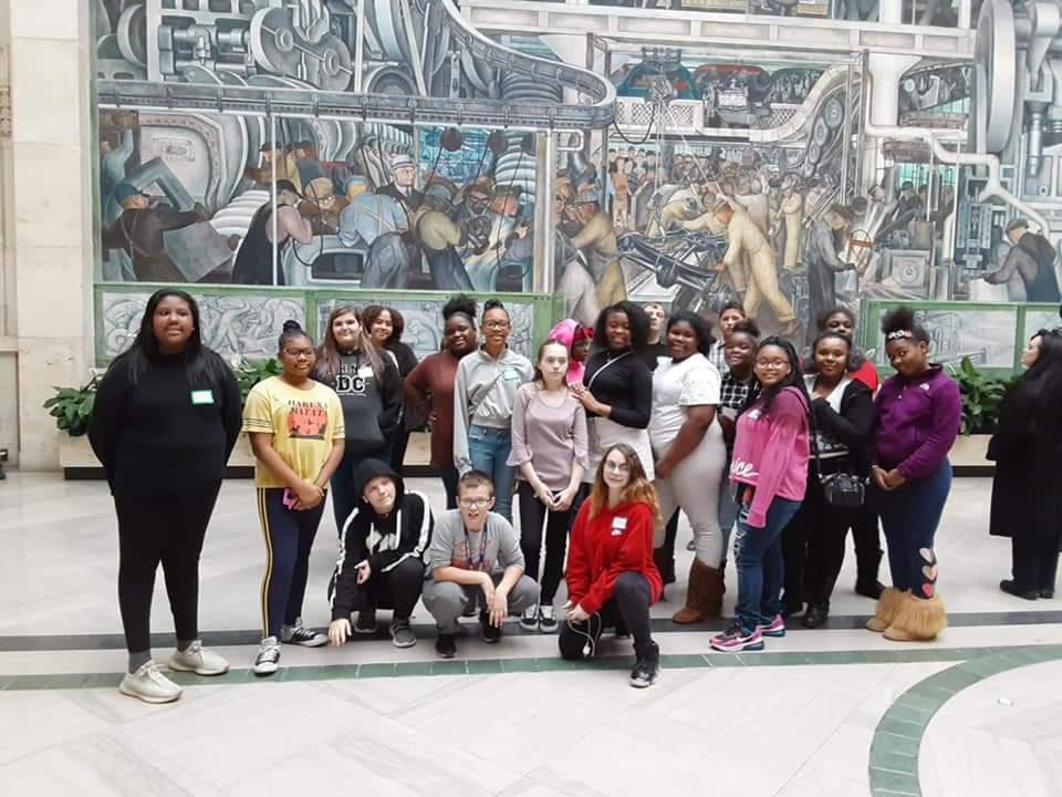Students at DIA