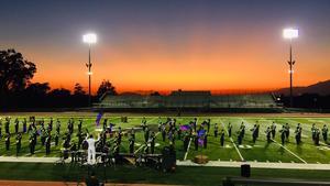 Band at Sunset