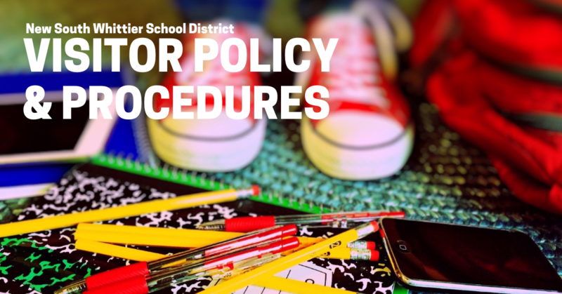 New Visitor & Procedure Policies To Be Implemented At South Whittier Schools Featured Photo