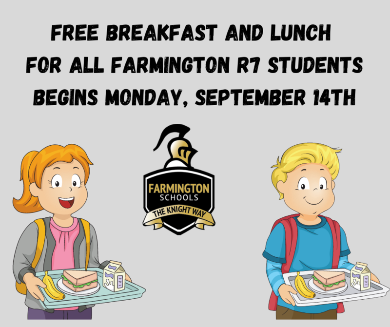 Free Lunches For All FSD Students
