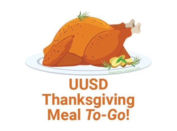Comida para el Día de acción de gracias de UUSD and cooked turkey