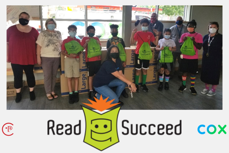 Students gear up for another summer of Read to Succeed! Featured Photo