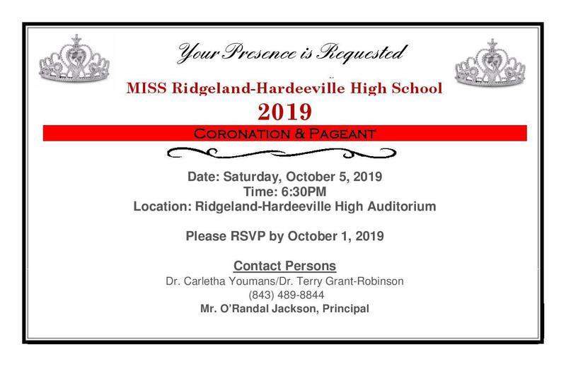 RHHS 2019 Coronation & Pageant Featured Photo