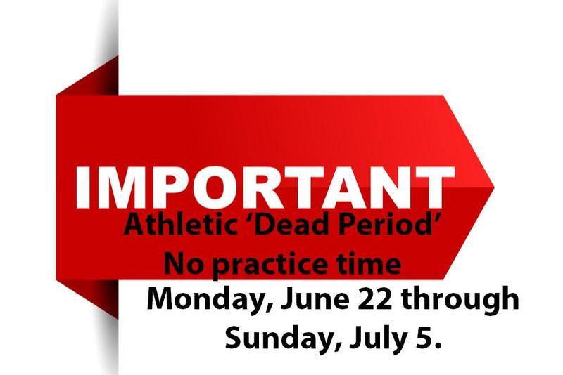 Athletic Dead Period 2020