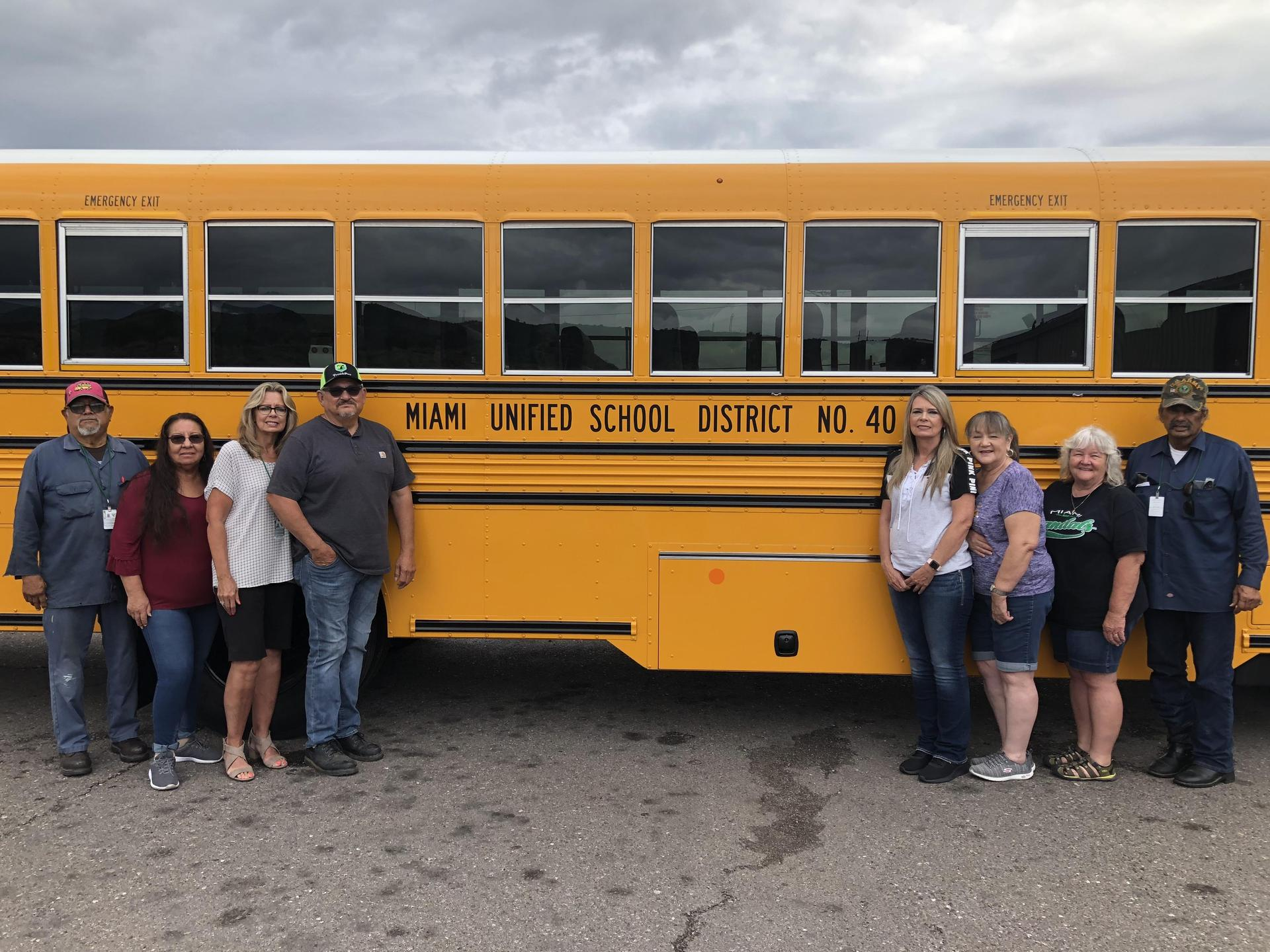 MUSD Transportation Staff