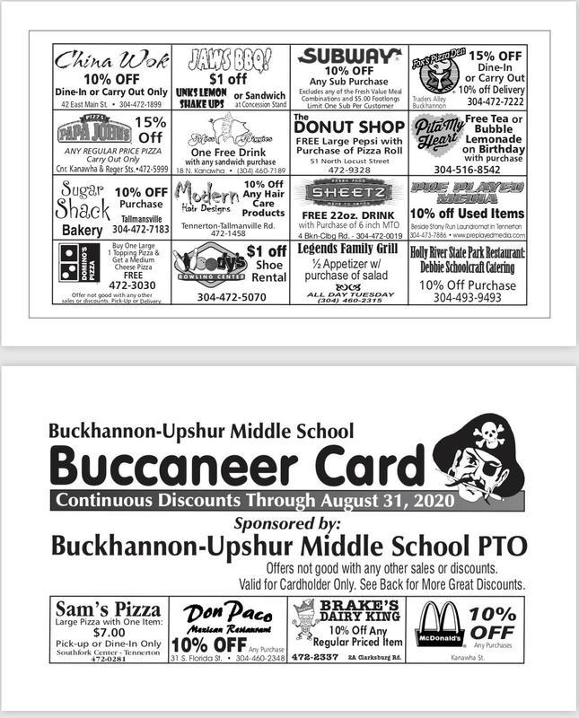 Buccaneer Cards