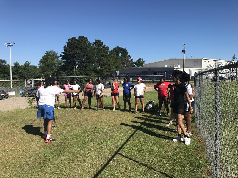Northeast High School Volleyball Tryout Day Photo