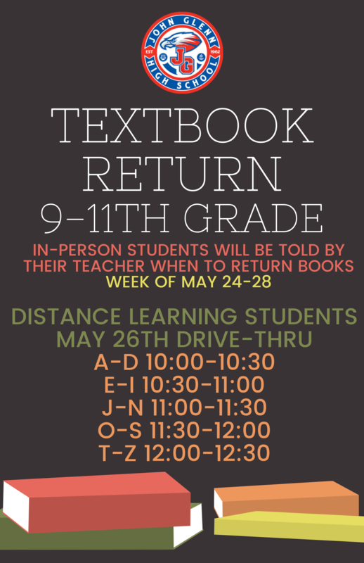 9-11th grade Textbook Return Featured Photo