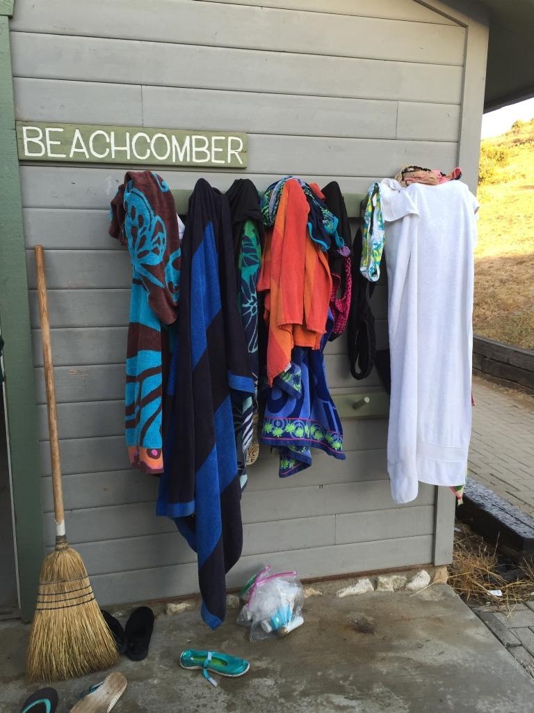 Towel Rack, Cabins