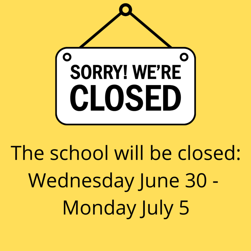 School Closed for July 4th Featured Photo