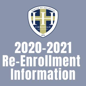 Re-enrollment Information