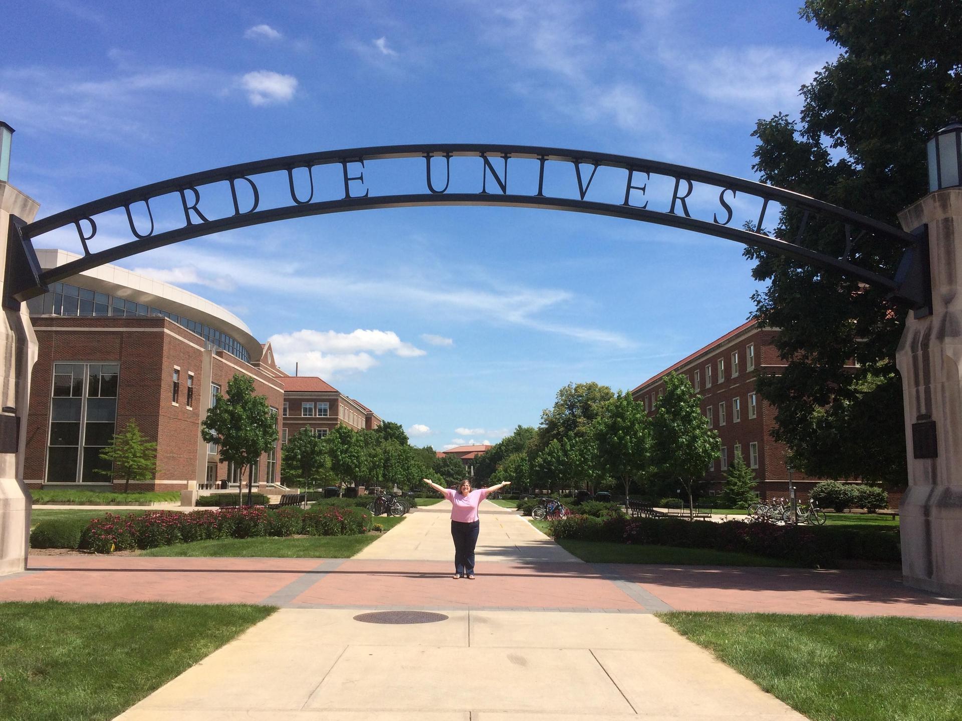 Miss Love at Purdue University