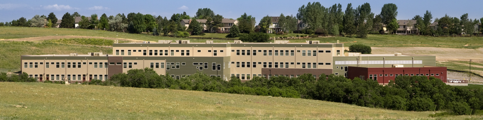 Image of the Castle Pines campus