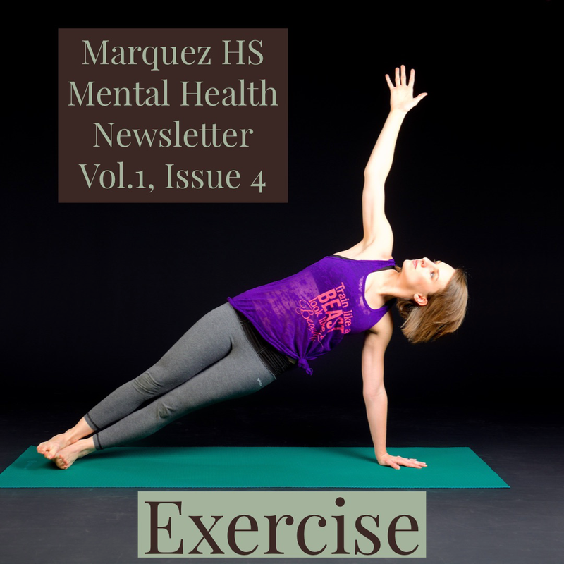 Marquez HS Mental Health Newsletter Vol.1, Issue 4 Thumbnail Image