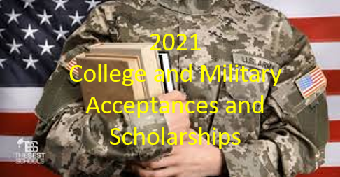 2021 College Acceptances and Scholarships! Thumbnail Image