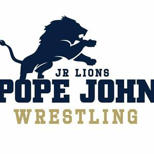 Jr Lions wrestling logo