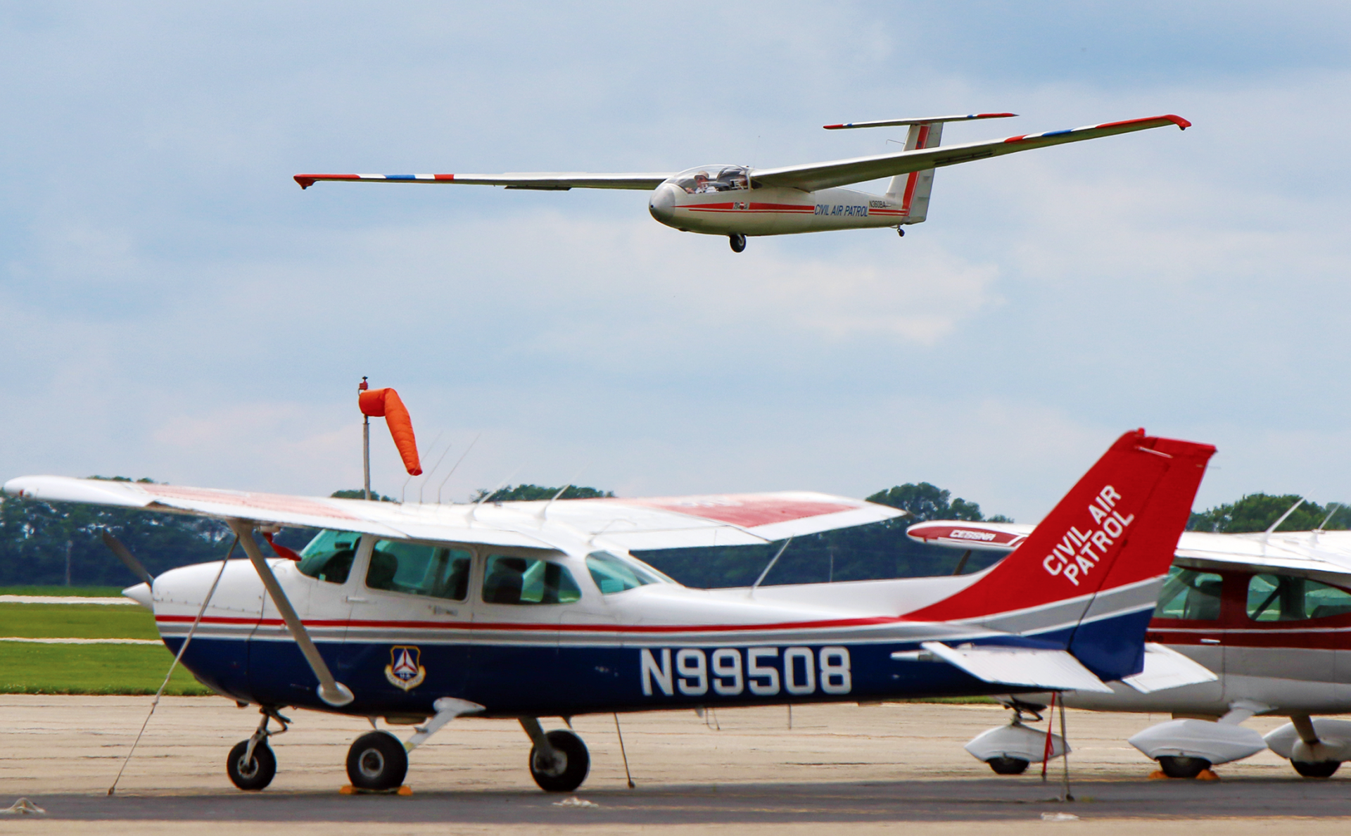 I help teenagers learn about aerospace careers and how to fly in Civil Air Patrol