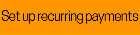 Recurring Payments button