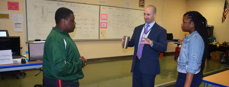 MDE Chief Academic Officer visits B &T.