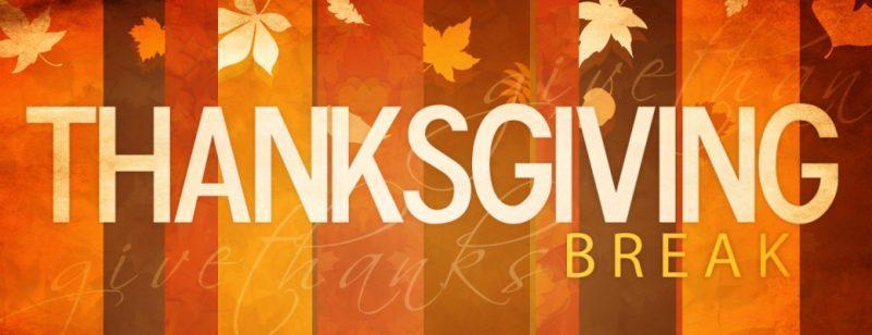 Thanksgiving Break | Campus Closed Featured Photo