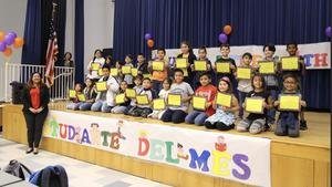 students of the month at huerta