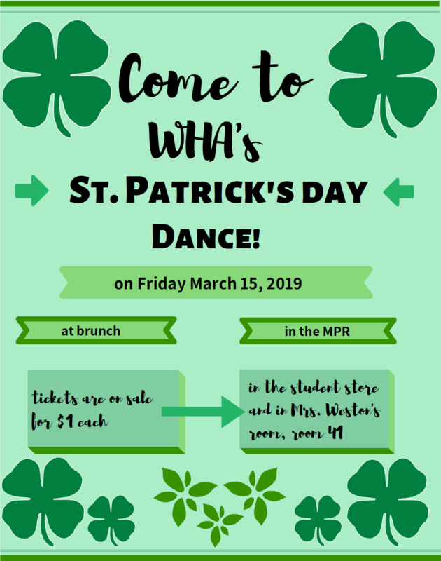St. Patrick's Day Dance This Friday! Thumbnail Image