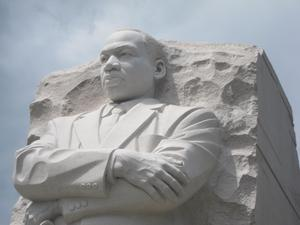 Monument picture of Martin Luther King, Jr.