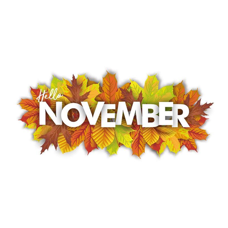 November Calendar/ Calendario de noviembre Featured Photo