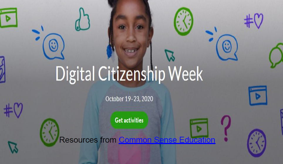 Digital Citizenship Week 2020