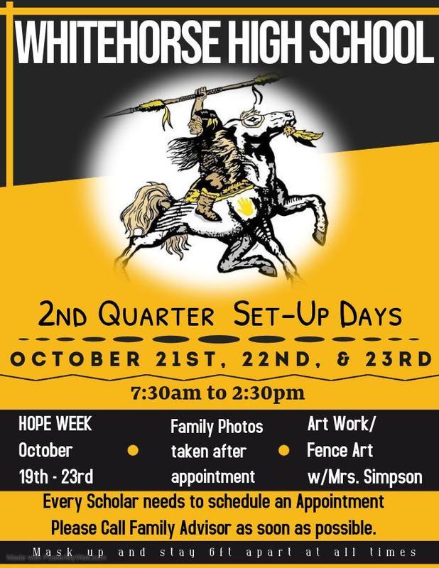 2nd Qtr Set-Up Days Info