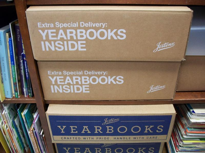 Yearbook boxes.