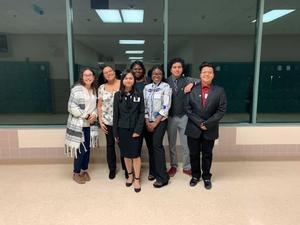 Manor Senior High Decathlon Team members