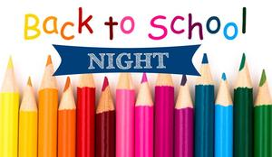 Back to school night post with pencils