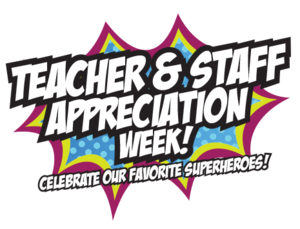 teacher and staff appreciation week graphic
