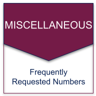 quick reference contact freq called numbers