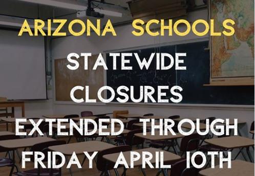 School closed until April 10