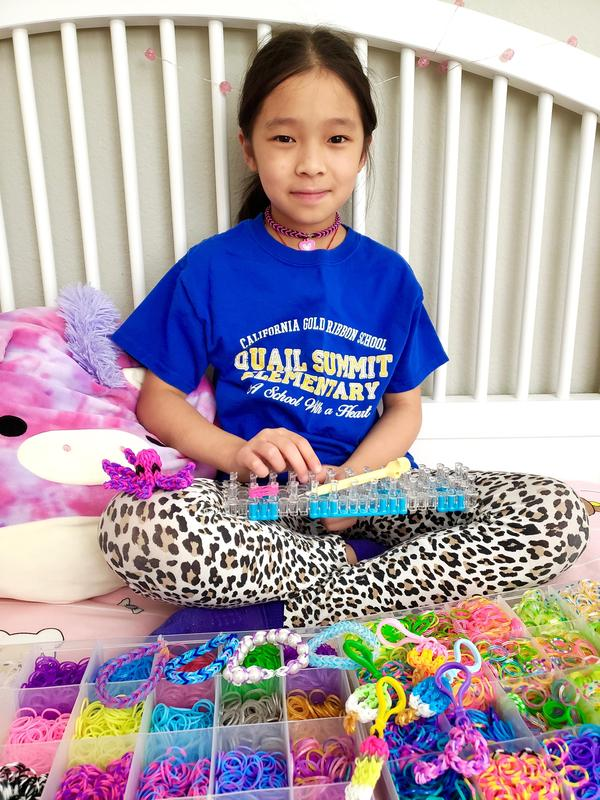 Quail Summit 3rd Grader Feeding America One Bracelet at a Time Featured Photo