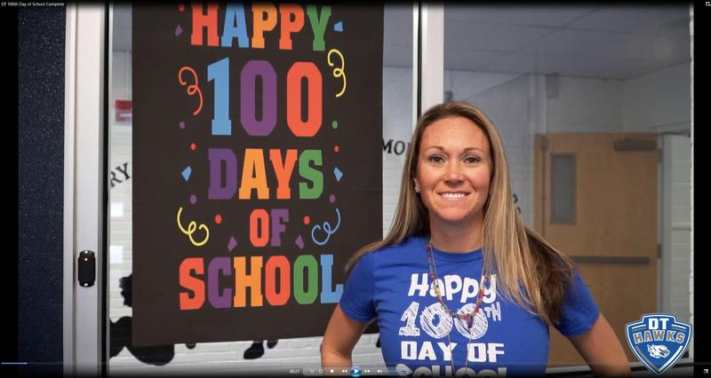 100th Day of School Video Thumbnail Image