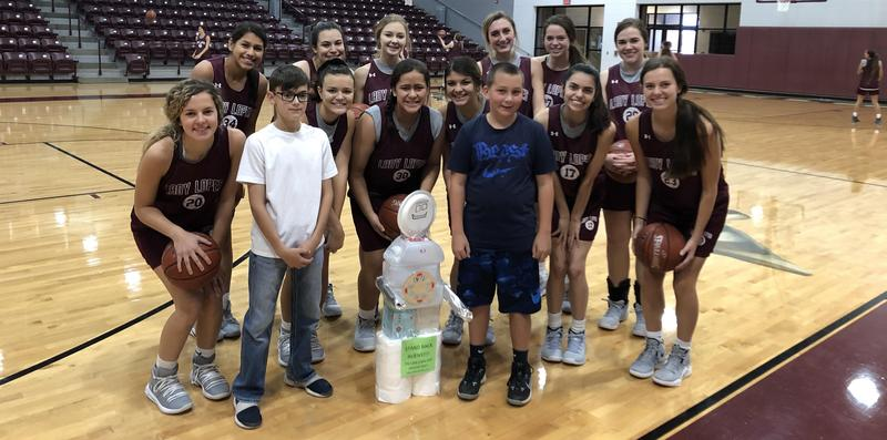 Students Donate Robot to Lady Lopes Featured Photo