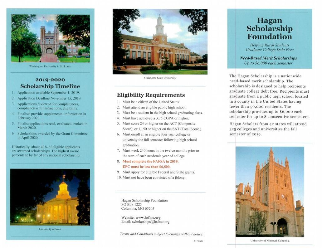 Hagan Scholarship