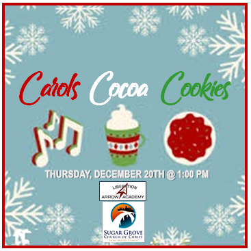 Carols Cocoa and Cookies Featured Photo