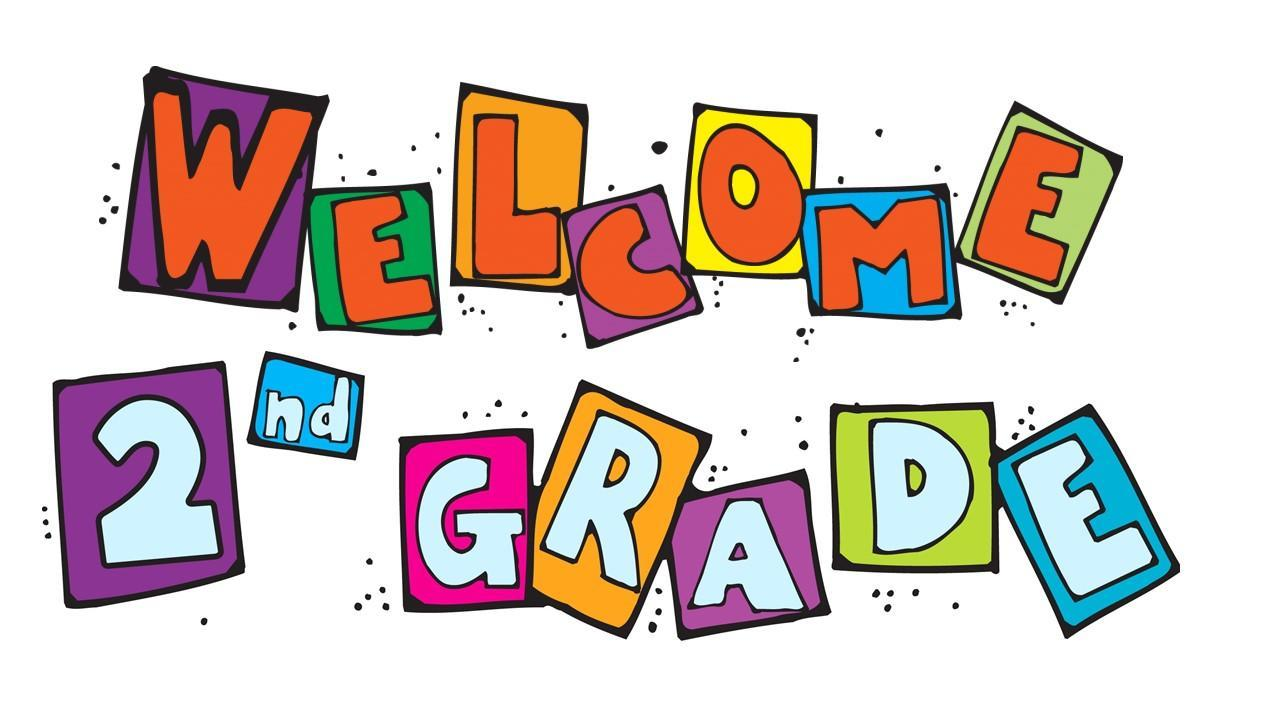 Image result for welcome to 2nd grade clip art