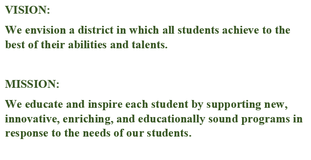 Board of Education Vision and Mission Statement