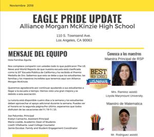 Eagle Pride Noviembre